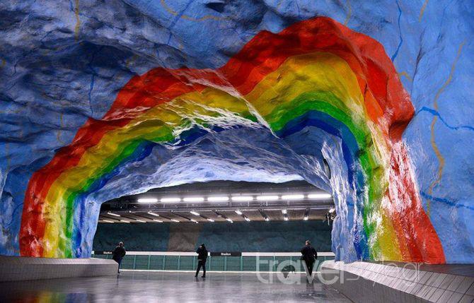 Το μετρό της Στοκχόλμης είναι σκέτο έργο τέχνης! (photos)