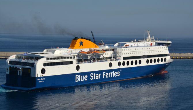 Η Blue Star Ferries ενώνει τη Σάμο με τον Πειραιά με το νέο της δρομολόγιο και μάλιστα σε λιγότερες ώρες από ποτέ!
