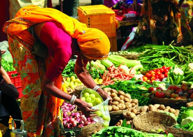Ινδία αγορά