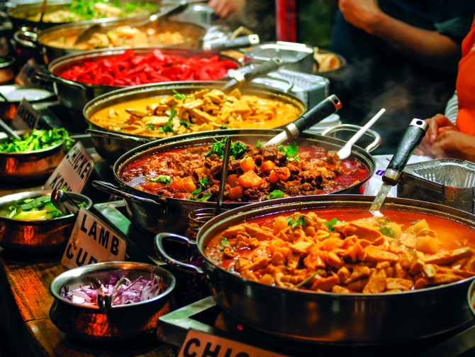 Ινδία φαγητό