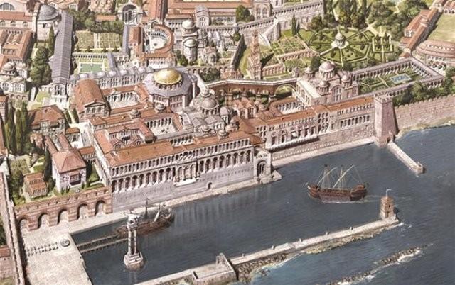 Δείτε την Κωνσταντινούπολη πριν από την άλωση. Πραγματική Βασιλεύουσα! (Photos)