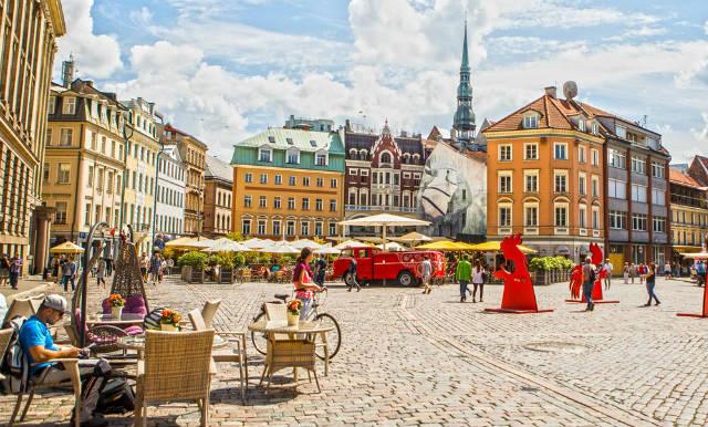 Ρίγα, Λετονία το Πάσχα
