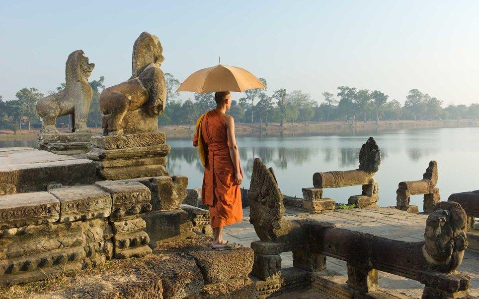 Καμπότζη μοναχός