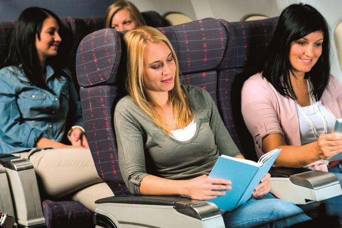 Συνταξιδιώτες στο αεροπλάνο