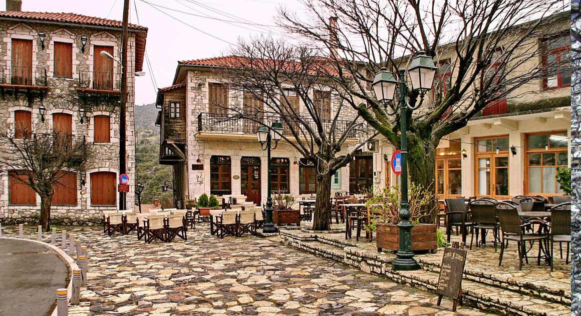 Στεμνίτσα, πλατεία