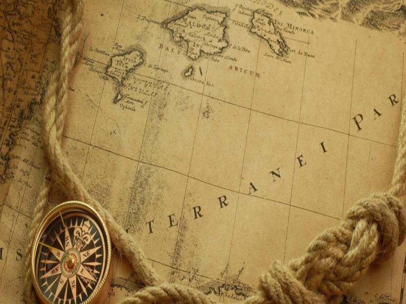 Vintage Travel Background Fantasy Map Page Maps Desktop X Wallpaper