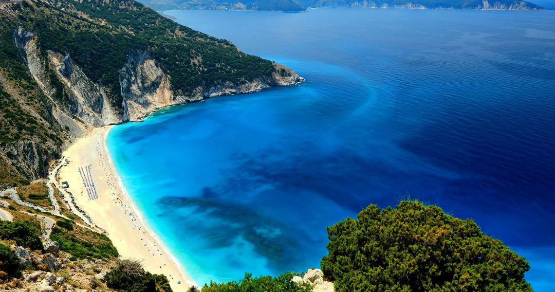Ο Μύρτος, μια όχι μόνο από της ομορφότερες παραλίες της Κεφαλονιάς αλλά όλης της χώρας