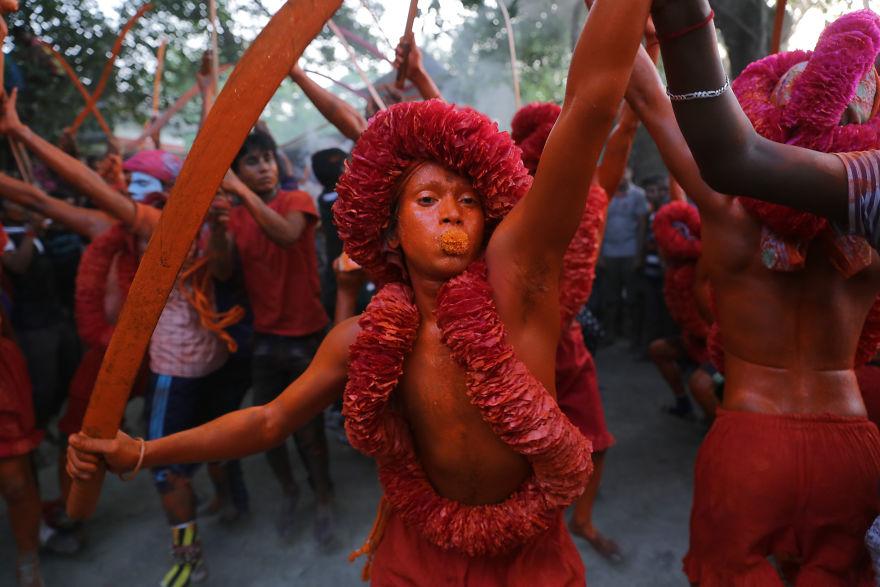 Από το φεστιβάλ δεν λείπουν και οι ινδουιστικοί χοροί!