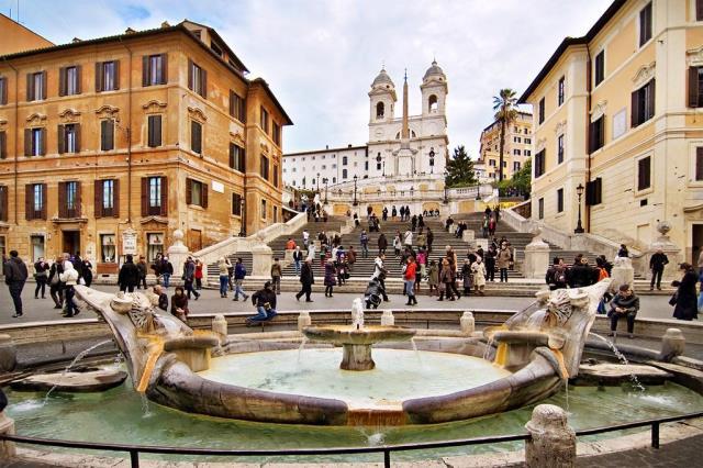 Piazza di Spagna, Ρώμη