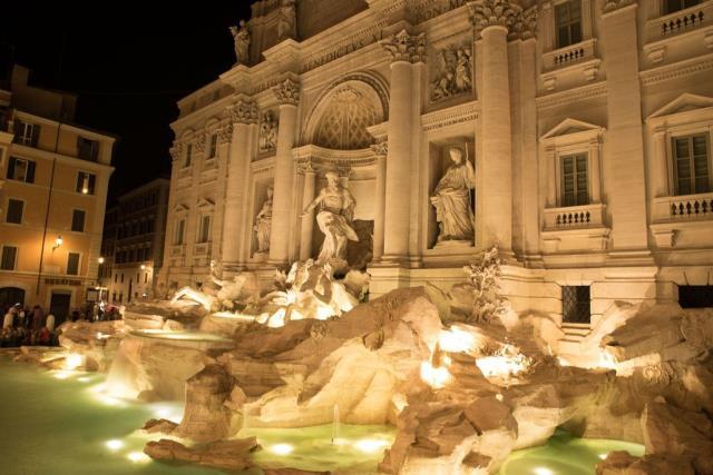 Fontana di Trevi, Ρώμη