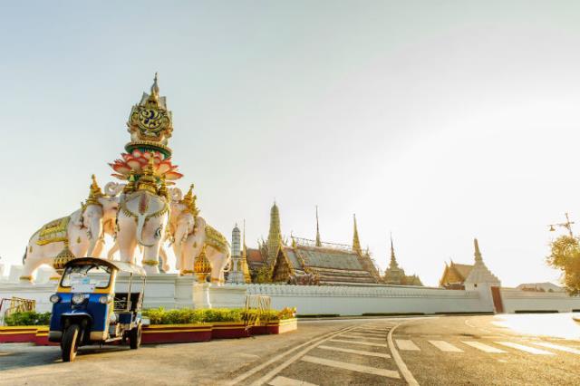 Tuk-tuk στην Ταϊλάνδη