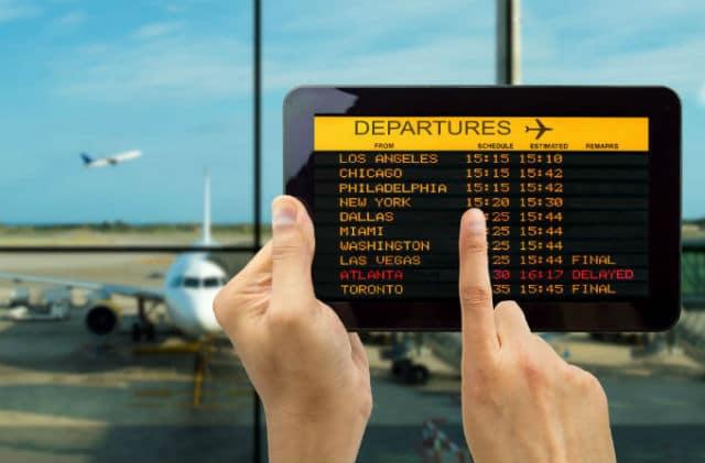 Αεροδρόμιο αναχωρήσεις