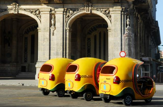 Coco taxi στην Κούβα