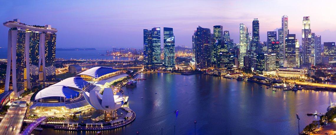 Σιγκαπούρη, πολύχρωμο ψηφιδωτό (Photos)