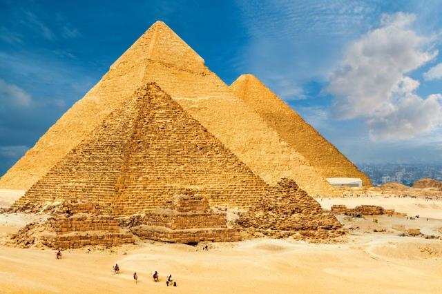 Πυραμίδες της Γκίζας, Κάιρο, Αίγυπτος