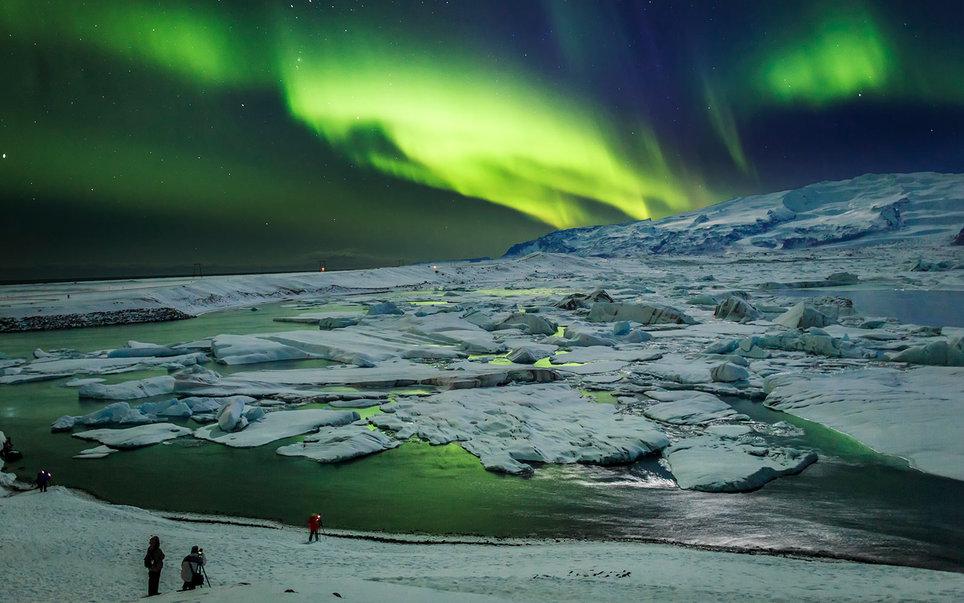 Ισλανδία, Βόρειο Σέλας