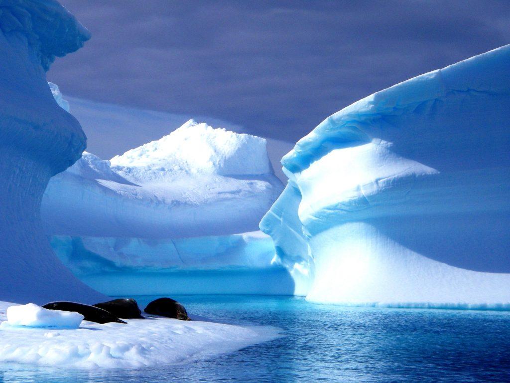 Iceberg Alley: Το γιγάντιο μπλε παγόβουνο που έχει τραβήξει όλα τα βλέμματα! (photo & video)