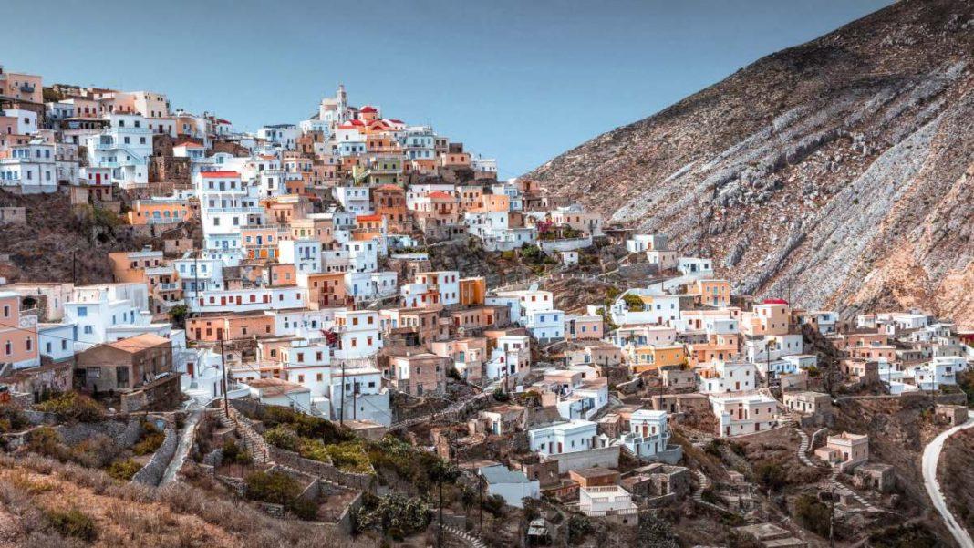 Όλυμπος στην Κάρπαθο ορεινό γραφικό χωριό