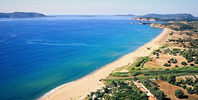 Παραλία Μαυροβούνι, Μεσσηνία