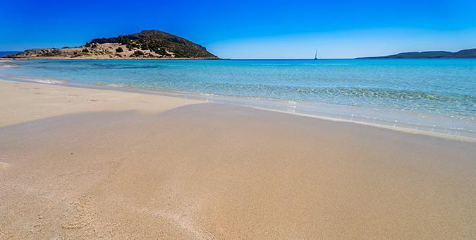 Παραλία Σίμος, Ελαφόνησος
