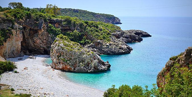 Παραλία Φονέας στη Μεσσηνία