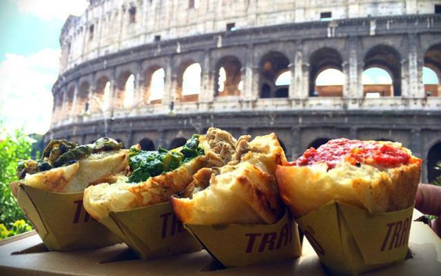 street food Ρώμη