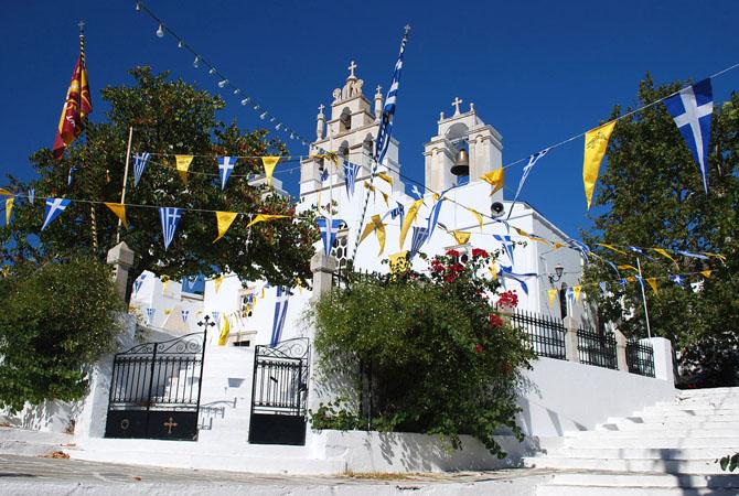 εκκλησία χωριό Φιλότι, Νάξος