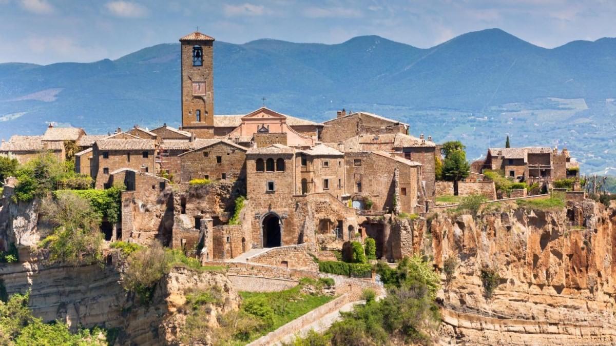 πόλη Bagnoregio, Ιταλία