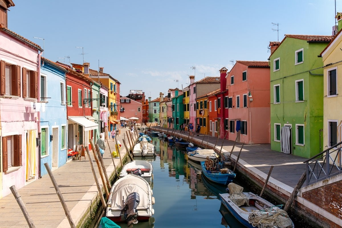 Burano,Ιταλία