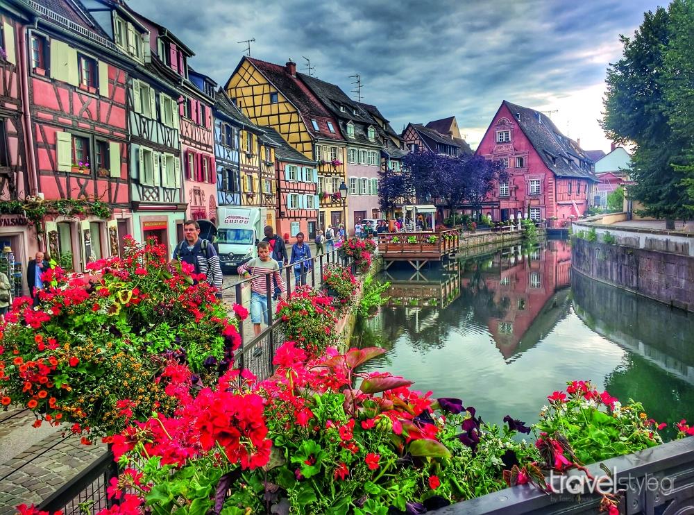 Colmar πολύχρωμη πόλη