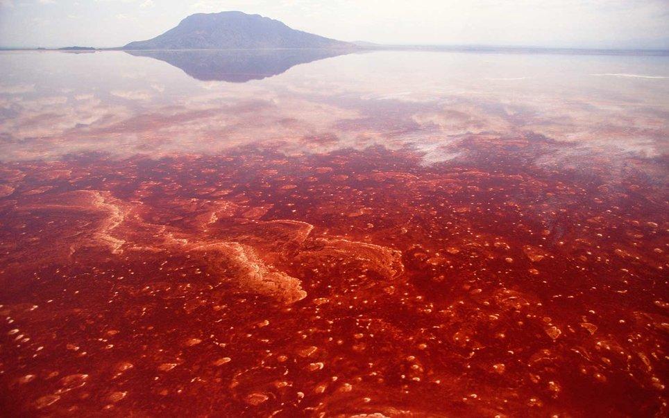 Lake Natron, Great Rift Valley, Tanzania