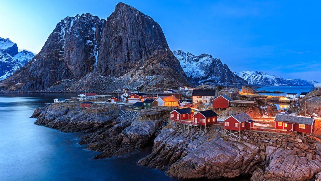 Rorbuer Lofoten islands, Νορβηγία