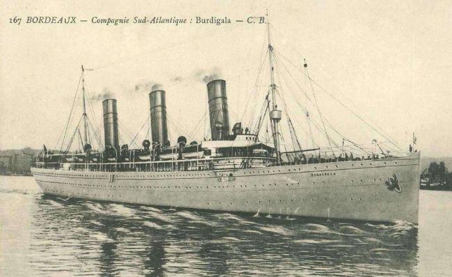 Burdigala...Το υπερωκεάνιο που κατασκευάστηκε  ως το μεγαλύτερο πλοίο του κόσμου, αλλά ναυάγησε στη Τζιά! (photo)
