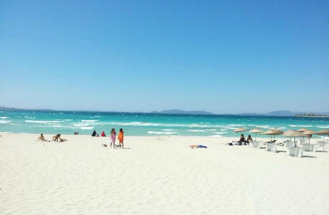 Αλάτσατα παραλίες, τουρκικό θέρετρο