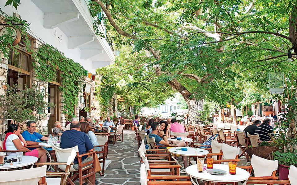 Καφετέρια χωριό Φιλότι, Νάξος