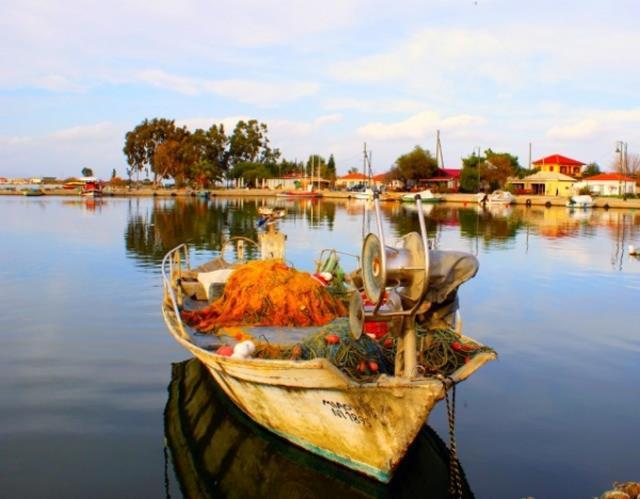 Κορωνησία - ψαροχώρι Ελλάδα