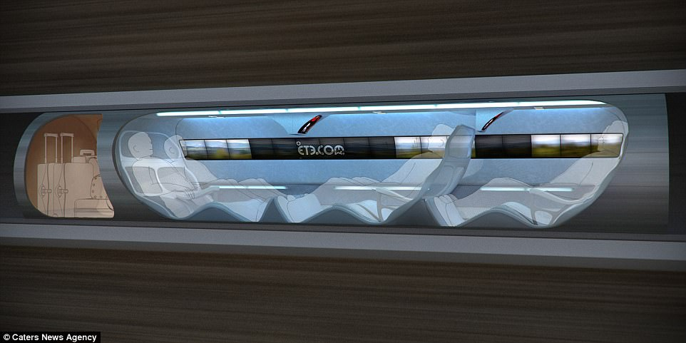 Το τρένο που φιλοδοξεί να κάνει την απόσταση Λονδίνο – Εδιμβούργο σε 8 λεπτά!