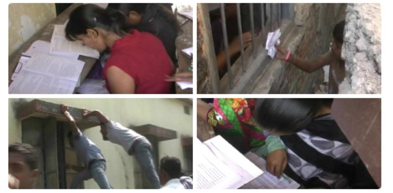 Έγινε στην Ινδία!Γονείς βρήκαν τον πιο ανεπανάληπτο τρόπο για να βοηθήσουν τα παιδιά τους στις εξετάσεις!Δείτε τις απίστευτες φωτογραφίες!