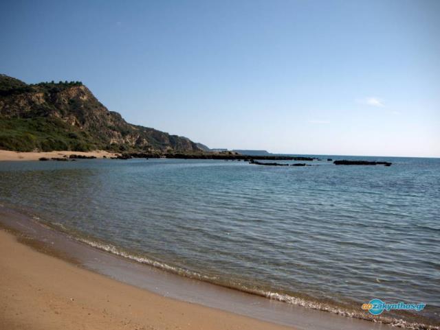 Παραλία Σεκάνια, Ζάκυνθος
