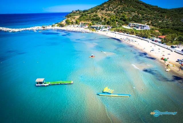Παραλία Αλυκανάς, Ζάκυνθος