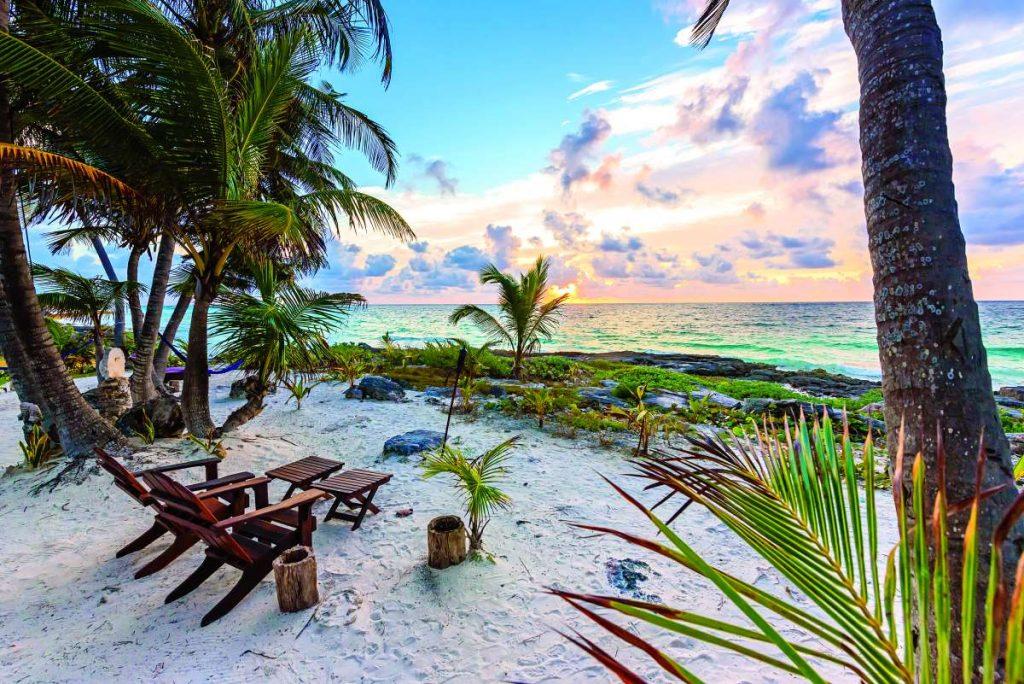 Ριβιέρα των Μάγια παραλία