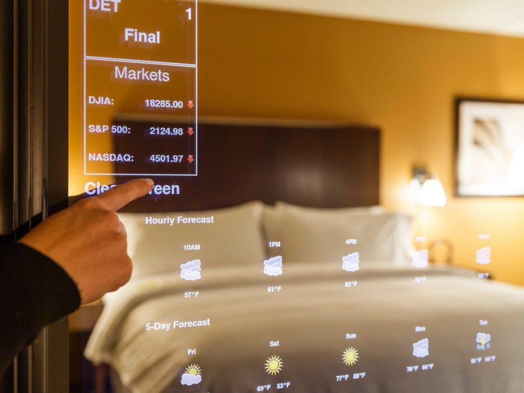 hotel in future