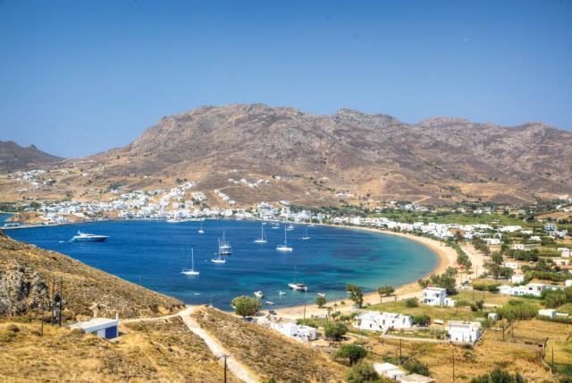Σέριφος λιμάνι