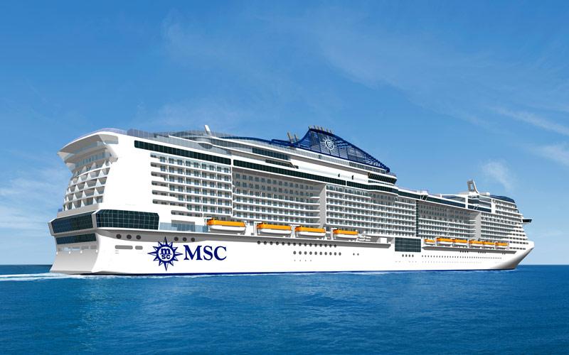 Το μεγαλύτερο κρουαζιερόπλοιο που υπάρχει στον κόσμο από την MSC Cruises!