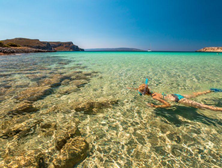 Παραλίες με κρυστάλλινα νερά