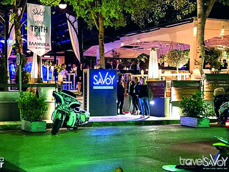 Το απόλυτο all day cafe-resto-bar Savoy είναι το πιο in στέκι για coctail nights στα Ιωάννινα!