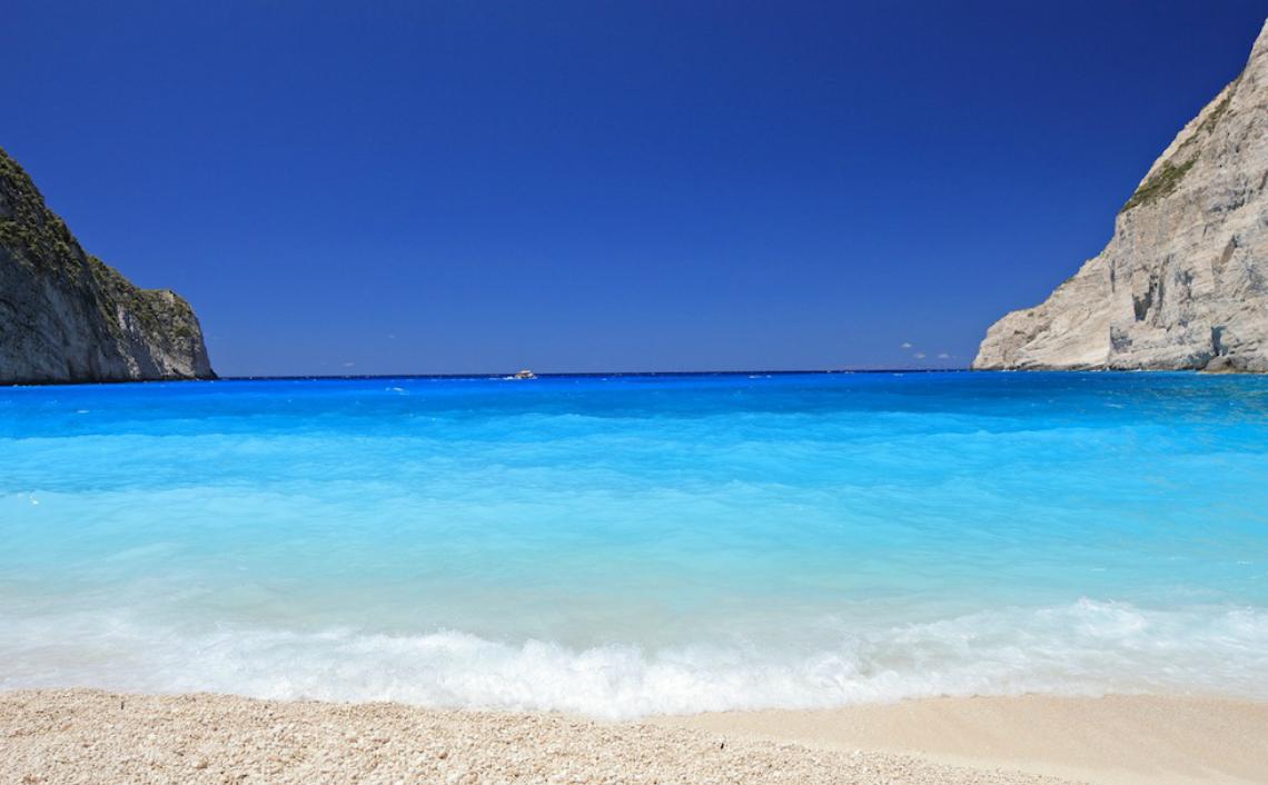 Παραλία στην Ζάκυνθο
