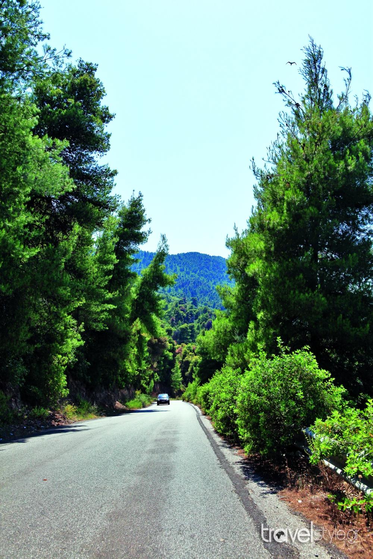 road trip Εύβοια