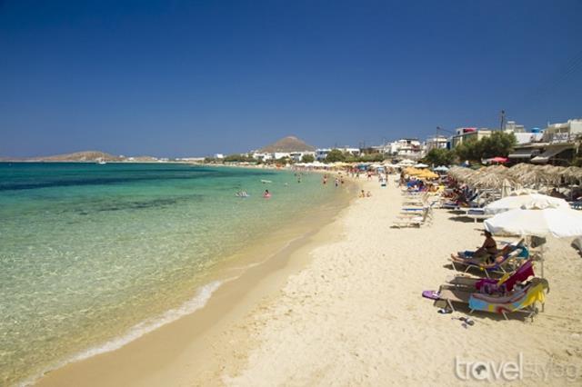 Αγία Άννα - παραλία Νάξος