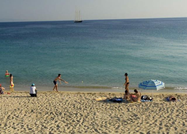 Άγιος Προκόπιος - παραλία Νάξος